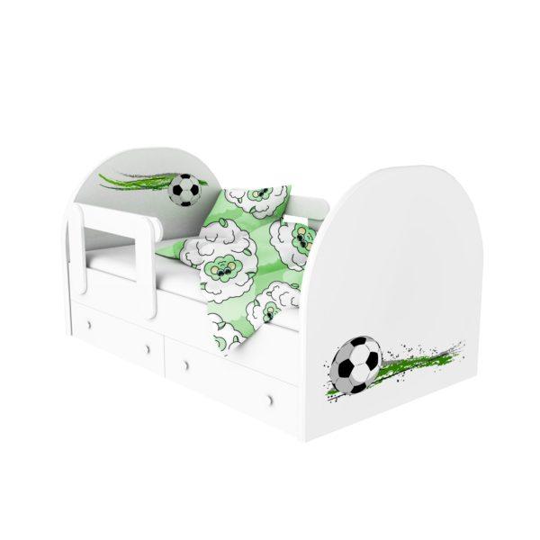 кровать с фотопечатью футбольный мяч