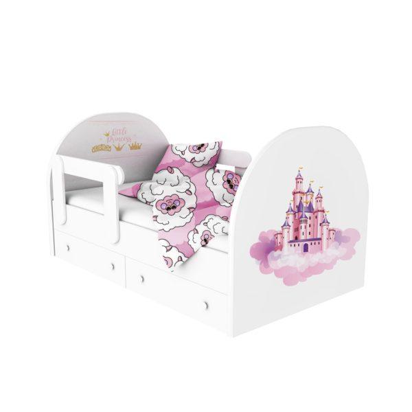 кровать с фотопечатью принцесса