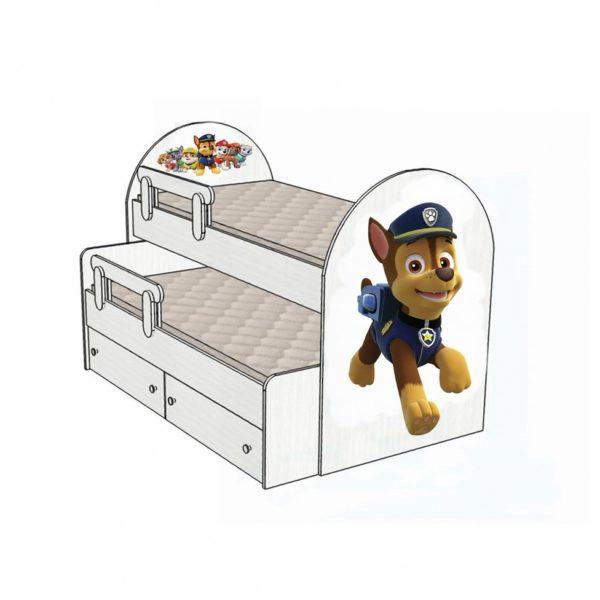 Кровать Патруль