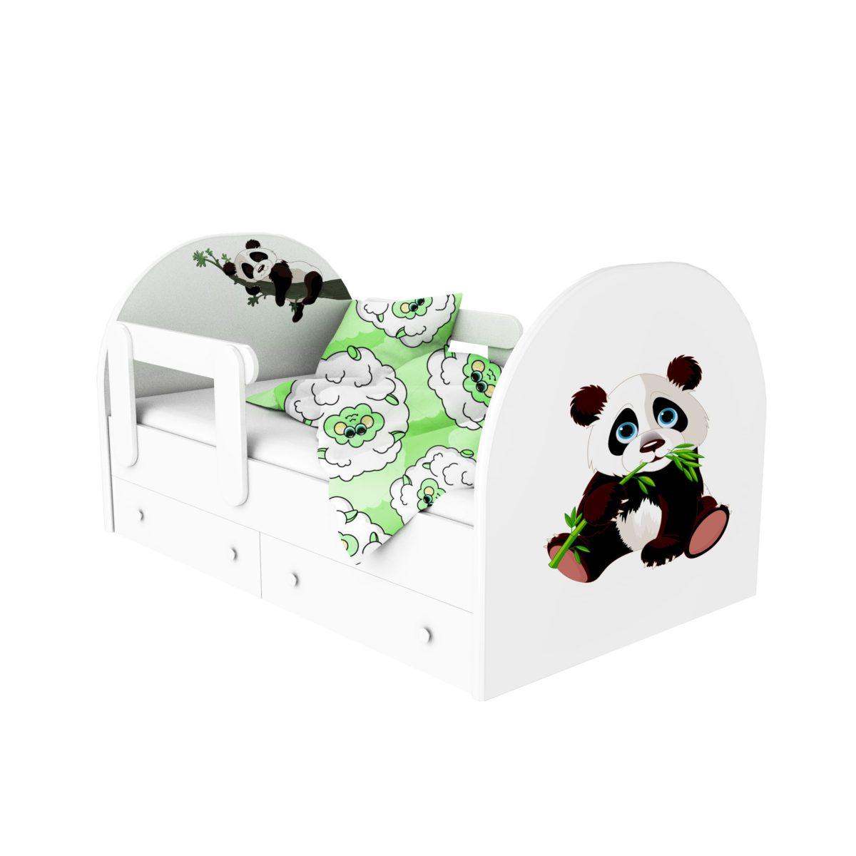 кровать с фотопечатью панда 2