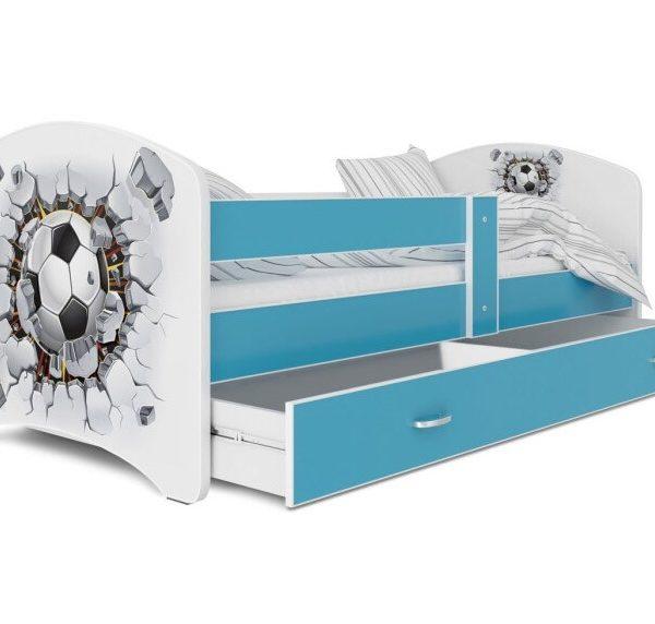 кровать с фотопечатью мишка